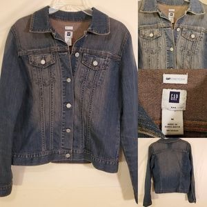 M | GAP | STRETCH DENIM JACKET VINTAGE WASH